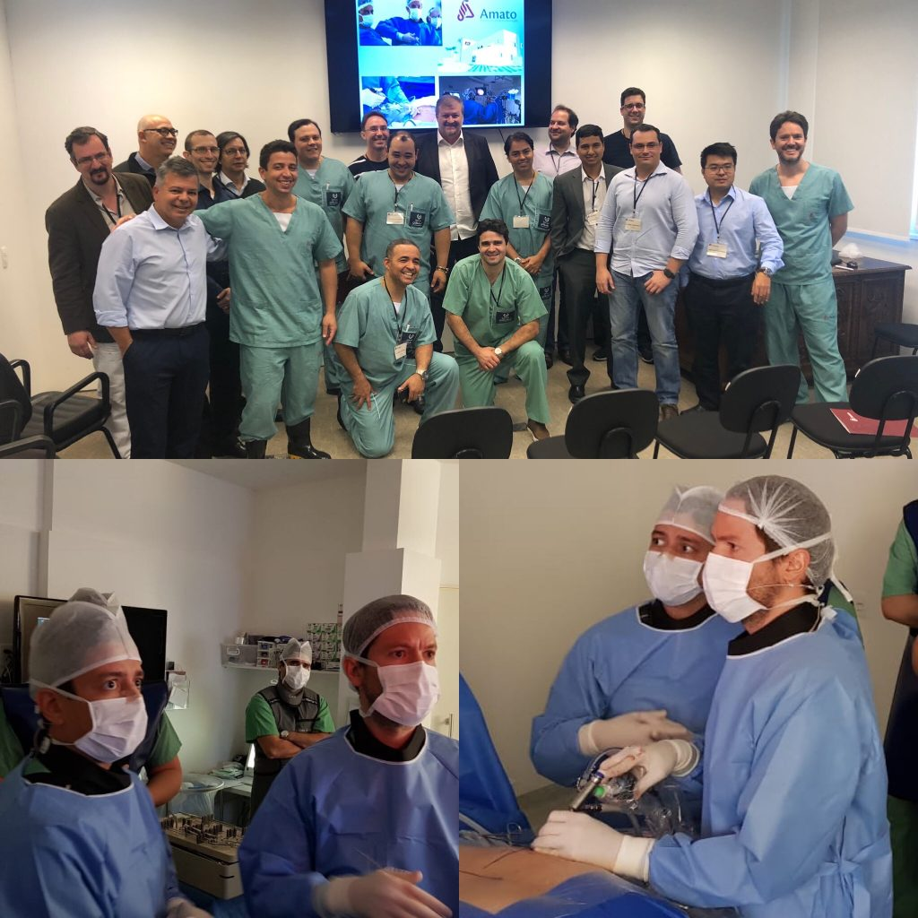 Cirurgia Endoscópica de Coluna - Treinamento