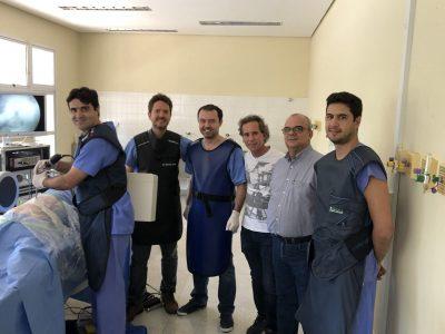 Treino Prático de endoscopia de coluna
